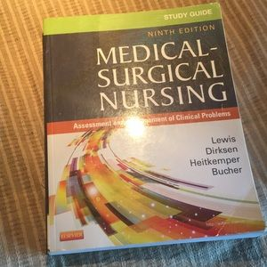 9th edition Medical-Surgical Nursing by Lewis NEW!